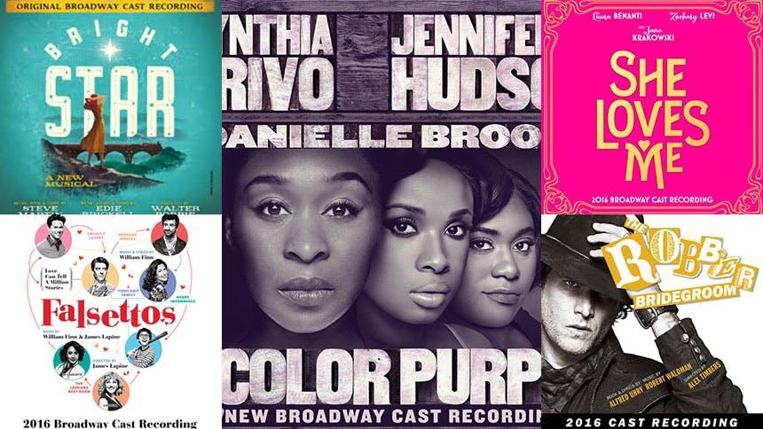 Five Broadway Cast Recordings That Got Us Through 2016