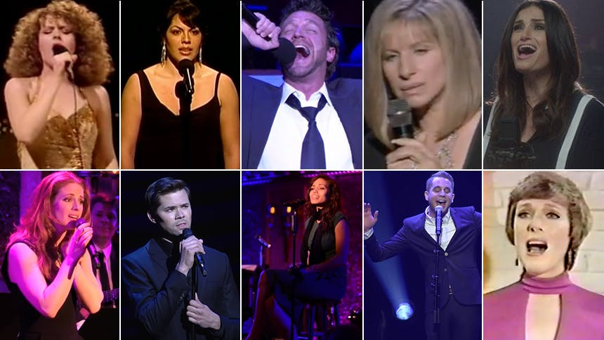 """For A Star Is Born, 15 Broadway Stars Belting """"The Man Th..."""