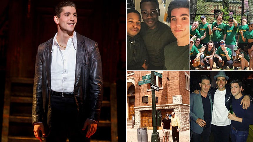 A Bronx Tale Star Adam Kaplan Looks Back on His 10 Favorite…
