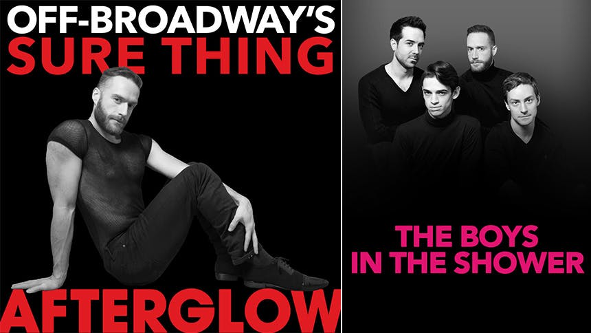 The Men of Off-Broadway's Afterglow Give Broadway A Cheek...