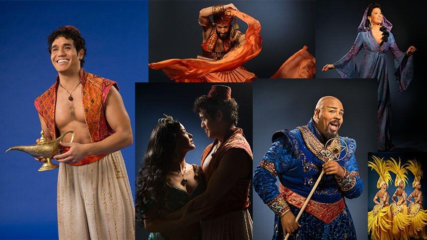 The Stars & Creators of Broadway's Aladdin Share Their Ulti…
