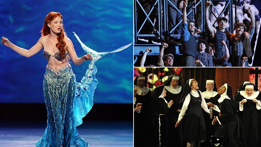 YouTube Spiral: All of the Alan Menken Musical Tony Award...