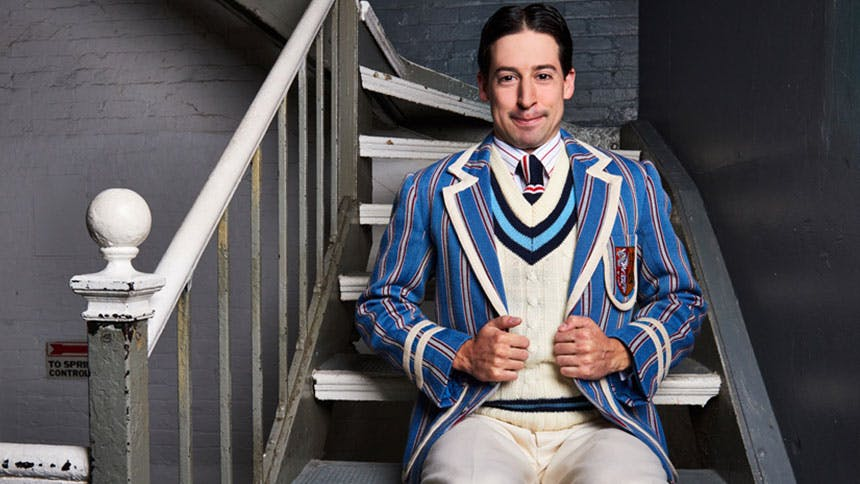 The Play That Goes Wrong Star Alex Mandell Takes On Seven...