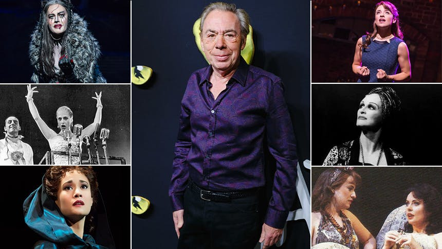 Let's Look at the Andrew Lloyd Webber Leading Lady Power ...