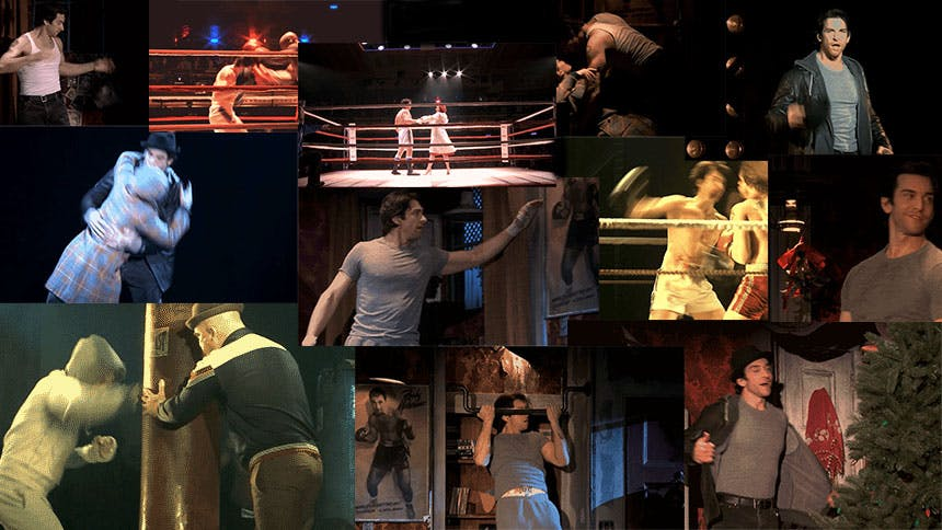 A Lover & A Fighter: 12 GIFS of Rocky Headliner Andy Karl
