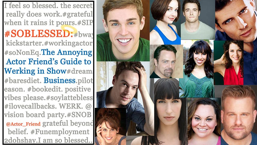 10 #NOTBLESSED Things That Will Happen to an Actor & The #B…
