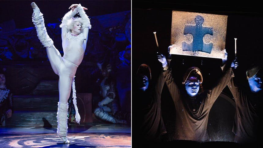 See Autism-Friendly Performances of Cats and Blue Man Gro...