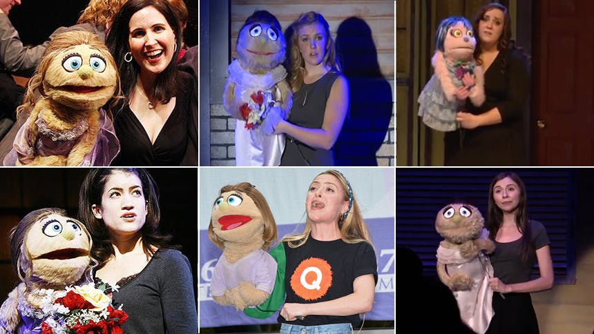 """15 Versions of Avenue Q's Act One Finale, """"There's A Fine, …"""