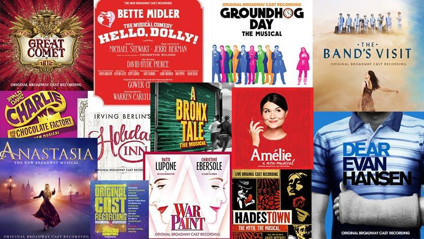 Friday Playlist: 2017's Best Broadway Showtunes