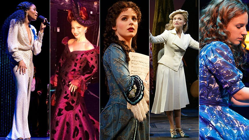 In Honor of New York Fashion Week: Broadway's 10 Best Dress…