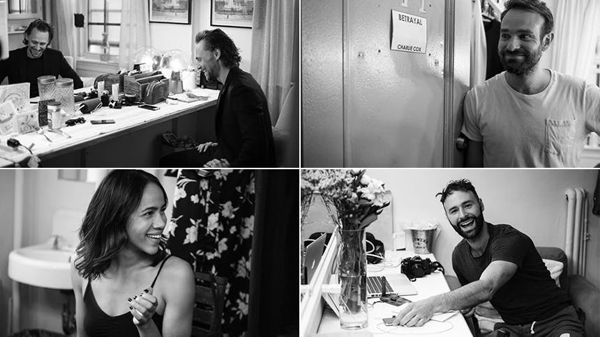 Go Backstage at Broadway's Betrayal with Tom Hiddleston, Za…