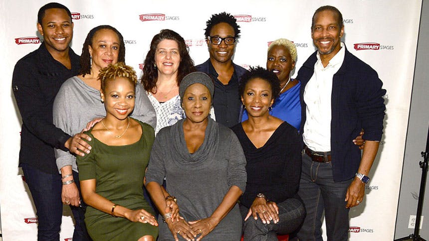Billy Porter and the Stars of His New Play While I Yet Live…