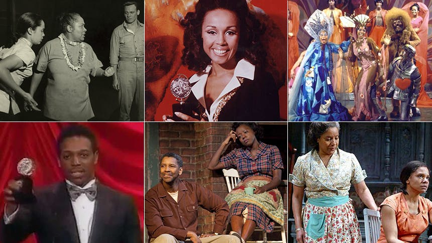 Spotlight on the 58 Tony-Winning African American Actors & …
