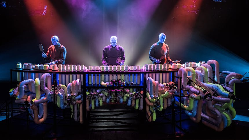 There's an Interactive Blue Man Group Installation Headin...