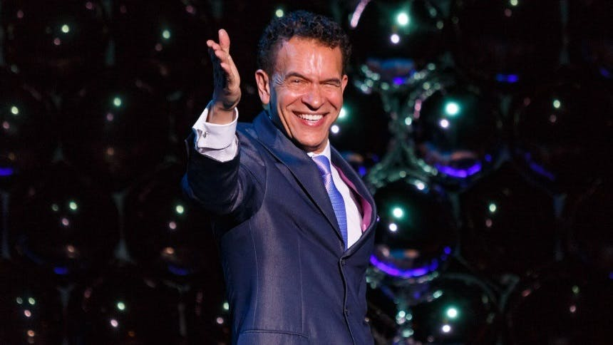 Brian Stokes Mitchell Hosts New Talk Show With Starry Guest…