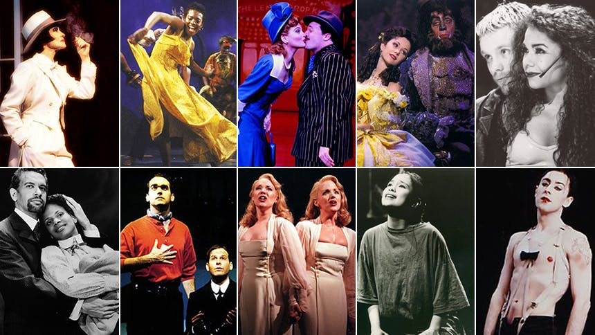 Friday Playlist: The Broadway Musicals of the 1990s
