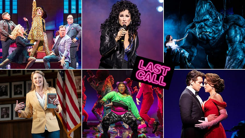 Closing Time: Last Call for Six Broadway Musicals & Plays...