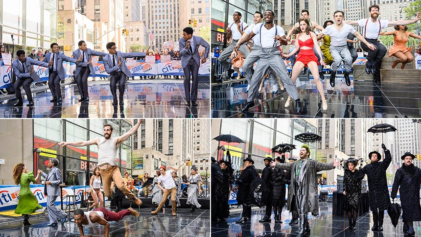 All The Today Show Performances from Broadway Week: Hades...