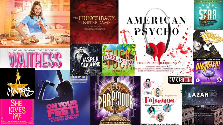 Friday Playlist: 2016's Best Broadway Songs From Each Cast