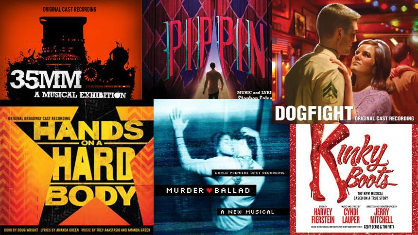 Six Cast Recordings That Rocked Our World in 2013