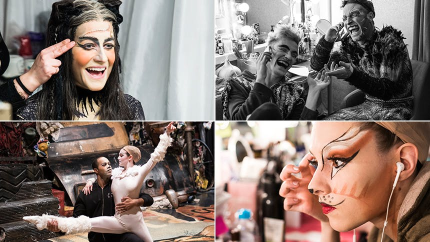 Exclusive Photos! Go Backstage at Broadway\u0027s Cats as the