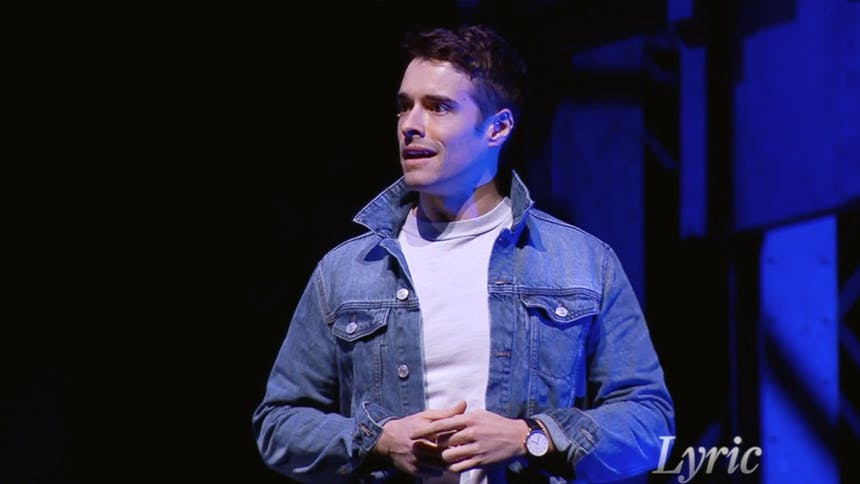"Watch Corey Cott's Absolutely Incredible Performance of ""..."