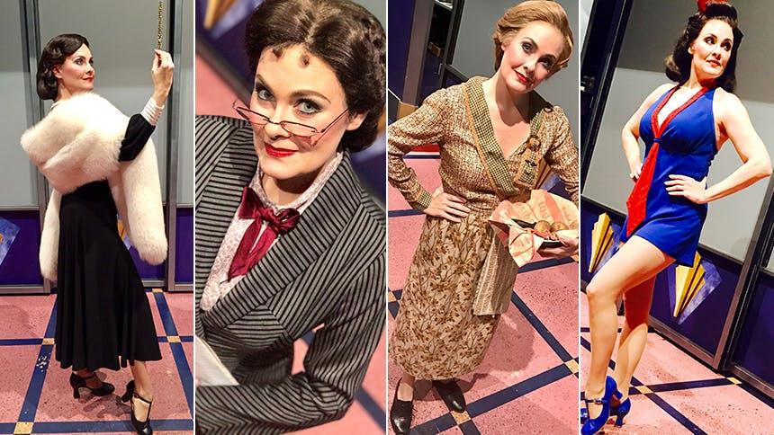 Cagney Scene-Stealer Danette Holden Introduces Her Many Cra…