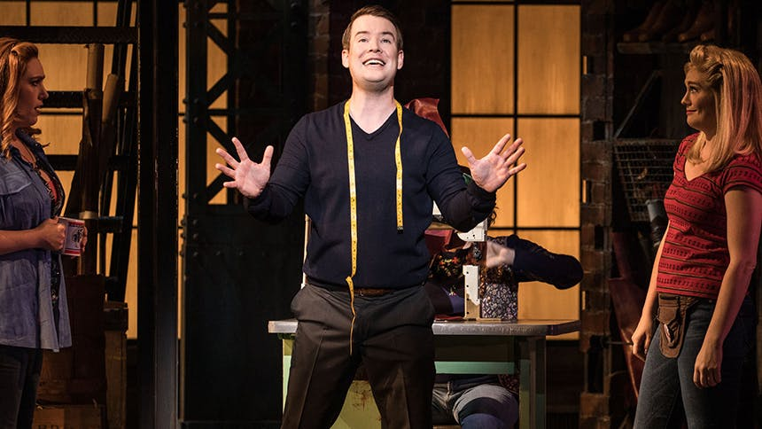 David Cook Takes On Seven Questions About Kinky Boots, Dr...