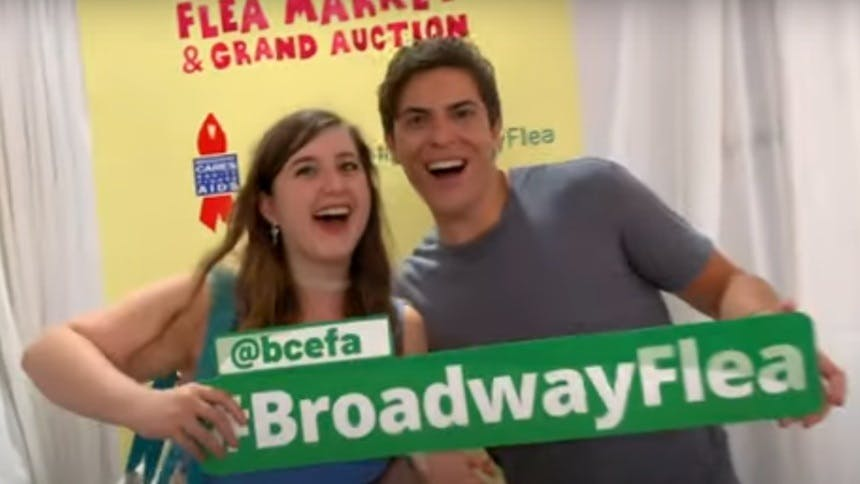 Hot Clip of the Day: Broadway Cares' Annual Flea Market Goe…