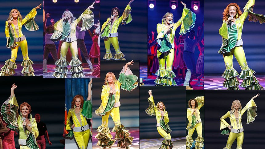 Six Mamma Mia! Donnas Strike a Pose as #OurLastSummer Nears