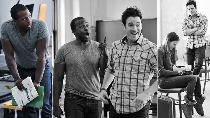 Violet's Joshua Henry and Colin Donnell Talk First Impres...