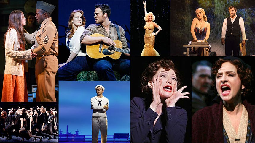 A Look at the Eight City Center Encores! Shows That Moved...