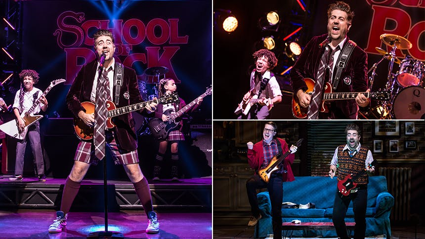 Five Burning Questions with School of Rock Star Eric Peters…