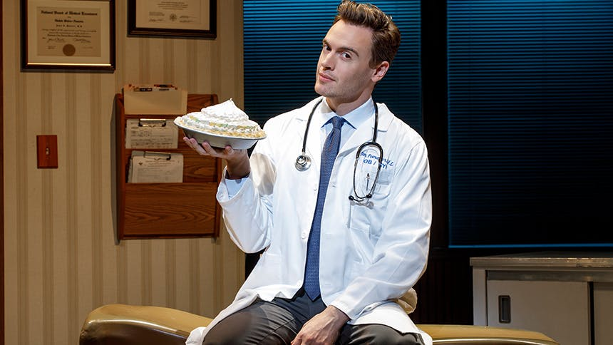 Erich Bergen Takes on Seven Questions About Waitress on B...
