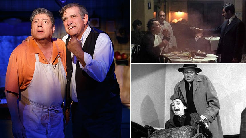 10 Mob Movie Moments Dinner with the Boys' Dan Lauria Wil...