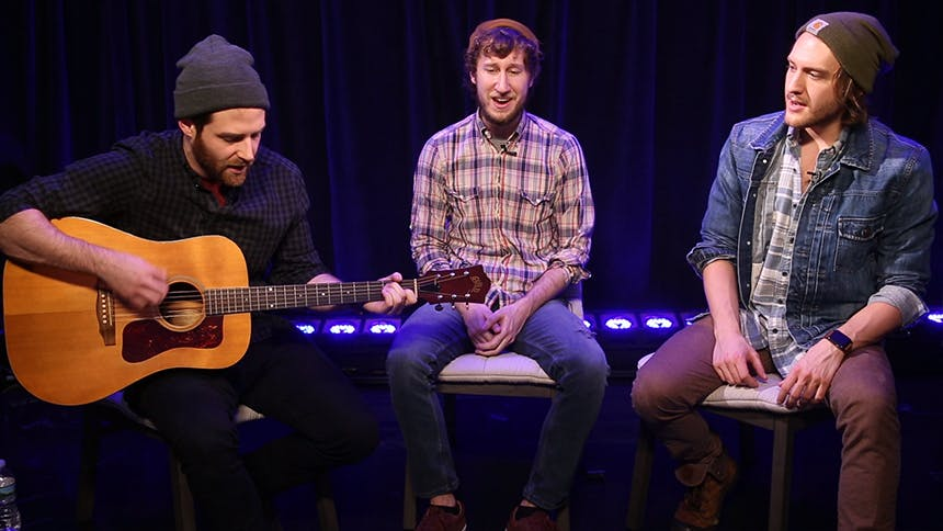 Broadway Unplugged Ben Rappaport Matt Moisey Amp Nick