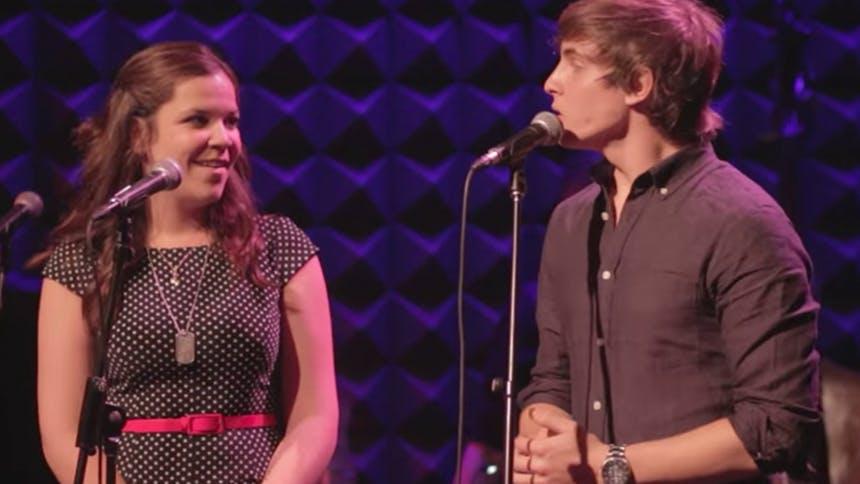 Hot Clip of the Day: Lindsay Mendez & Derek Klena Share an …