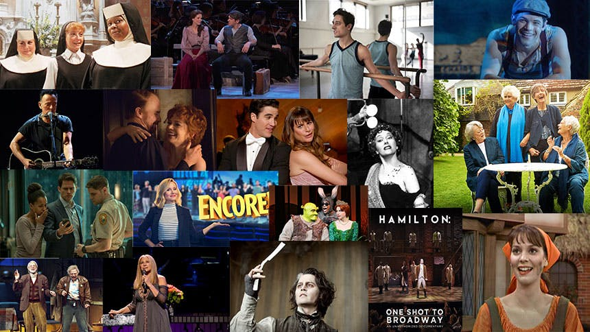 55 Broadway, Musical, or Broadway Adjacent Movies & TV Sh...