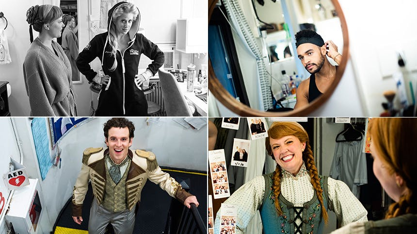 Exclusive Photos! Go Backstage at Disney's Frozen as the Br…