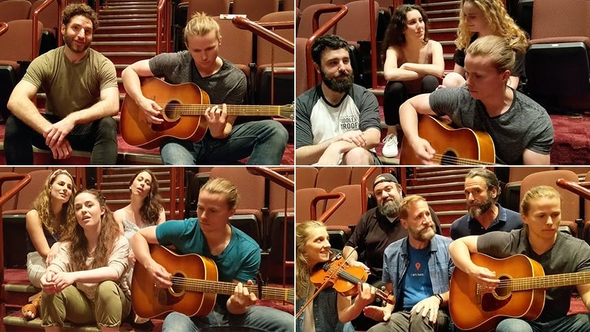 Fiddler on the Roof Goes Acoustic with Fyedke Flows, and ...