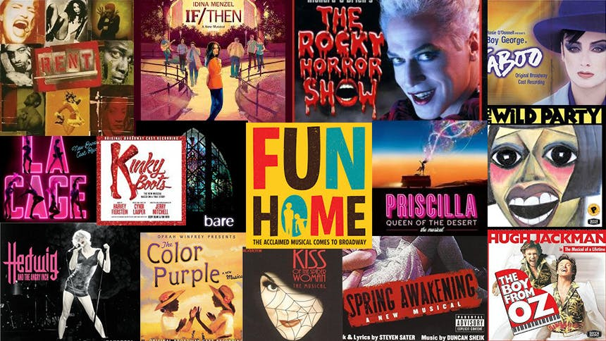 Gay Pride Playlist: 50 LGBT Songs from Broadway & Off
