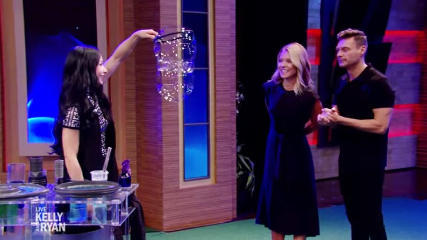 Melody Yang Brings The Gazillion Bubble Show to Live with K…