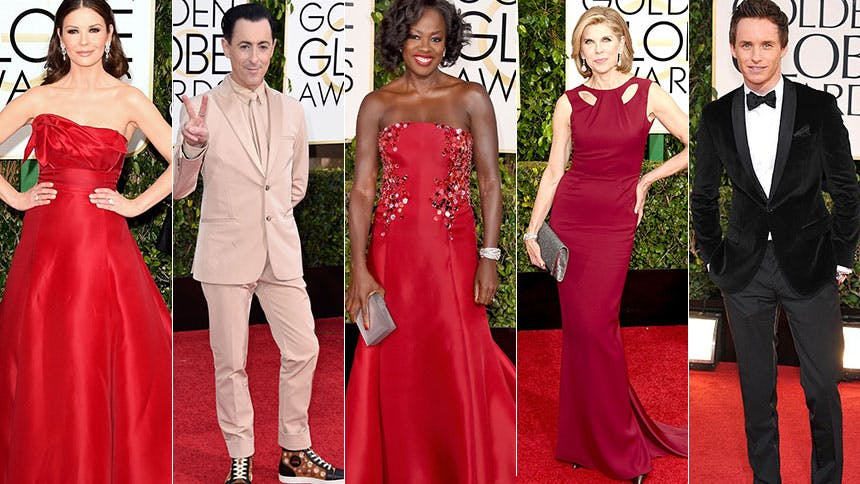 Five Tony Winners Who Nailed Their Golden Globe Red Carpe...
