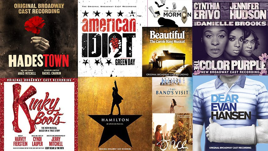 The $7 Song Off Each Grammy Award-Winning Musical Theater A…