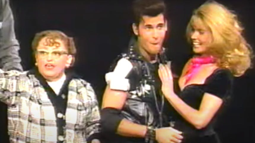 There Are GIF Things We Could Do with the 1994 GREASE Cast …