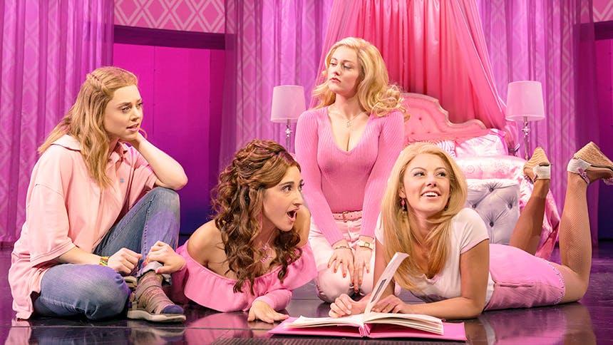 10 Videos of Mean Girls' New Gretchen Wieners, Krystina A...