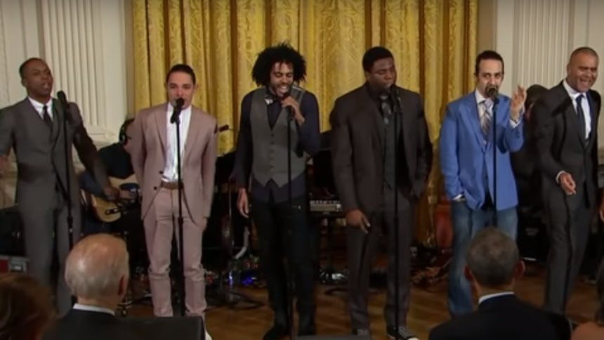 Hot Clip of the Day: Hamilton OBC Throwback in Honor of Som…