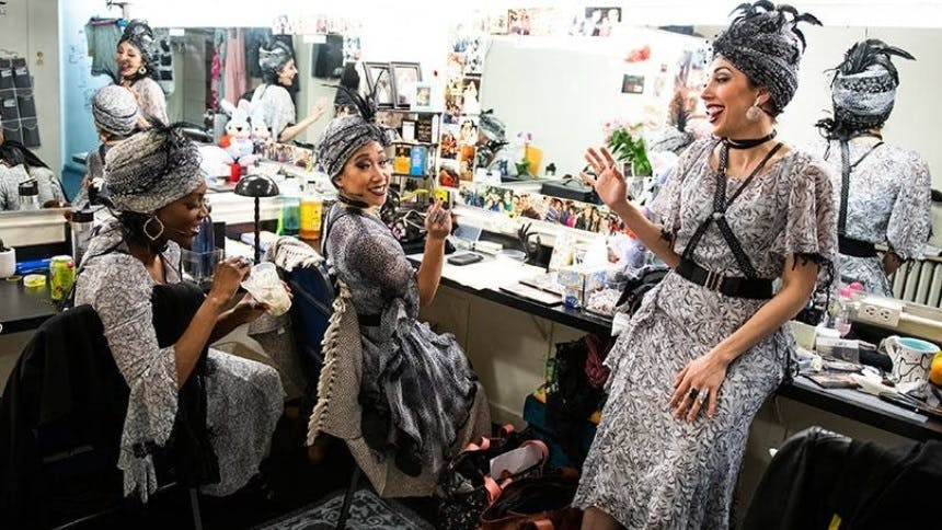 Hot Clip of the Day: Shining Stars! The Fates of Hadestown …