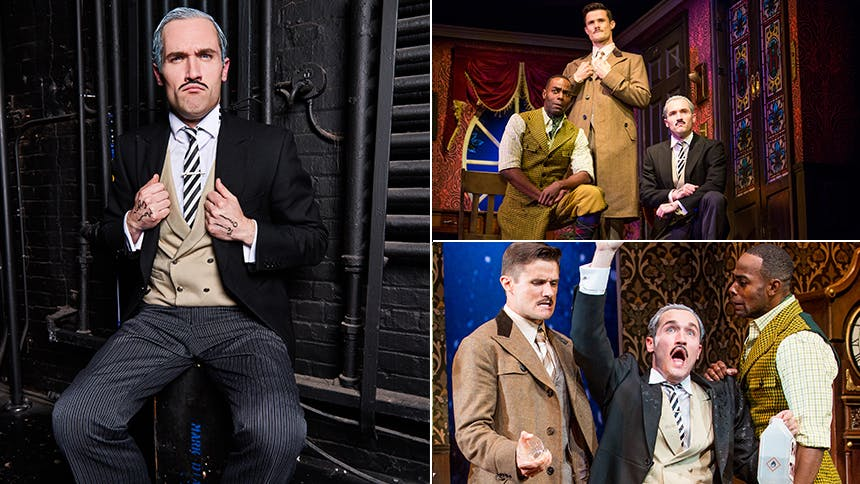 Five Burning Questions with The Play That Goes Wrong Star H…