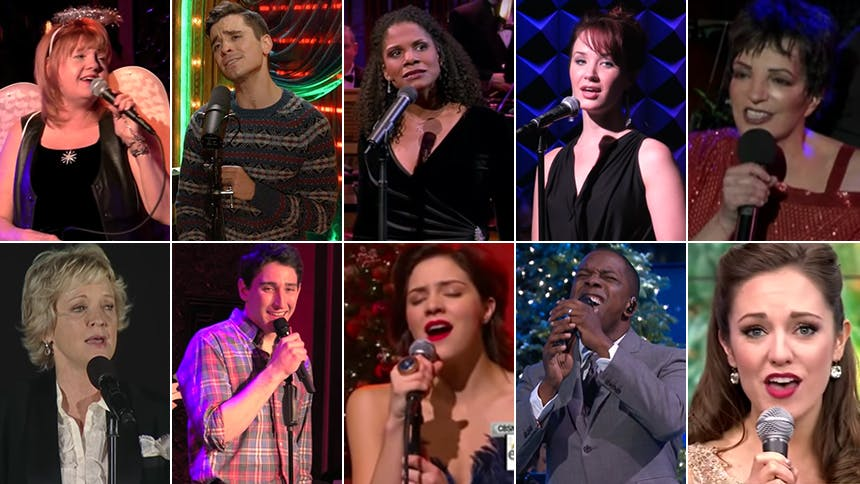 "Celebrate Christmas Day with 13 Broadway Stars Singing ""H..."